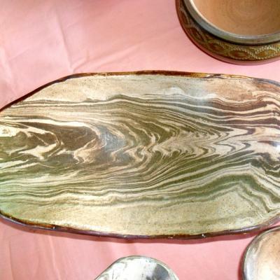 plat coeur de bois