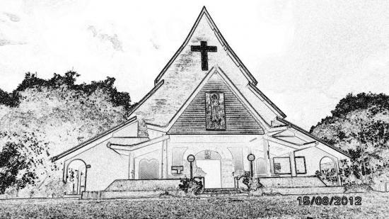 église coloriage