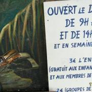 mur du musée;détail.