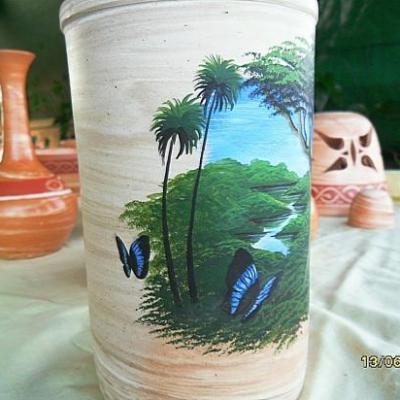 vases peint par Didier Lolmede