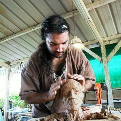 fan de sculpture