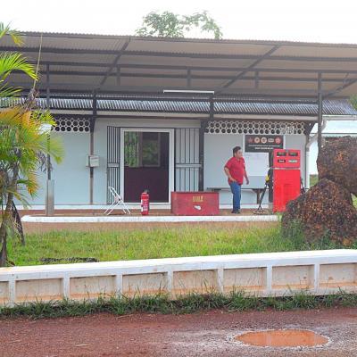 station service à cacao