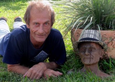 buste de Fred Boronnat (L'ilot pot